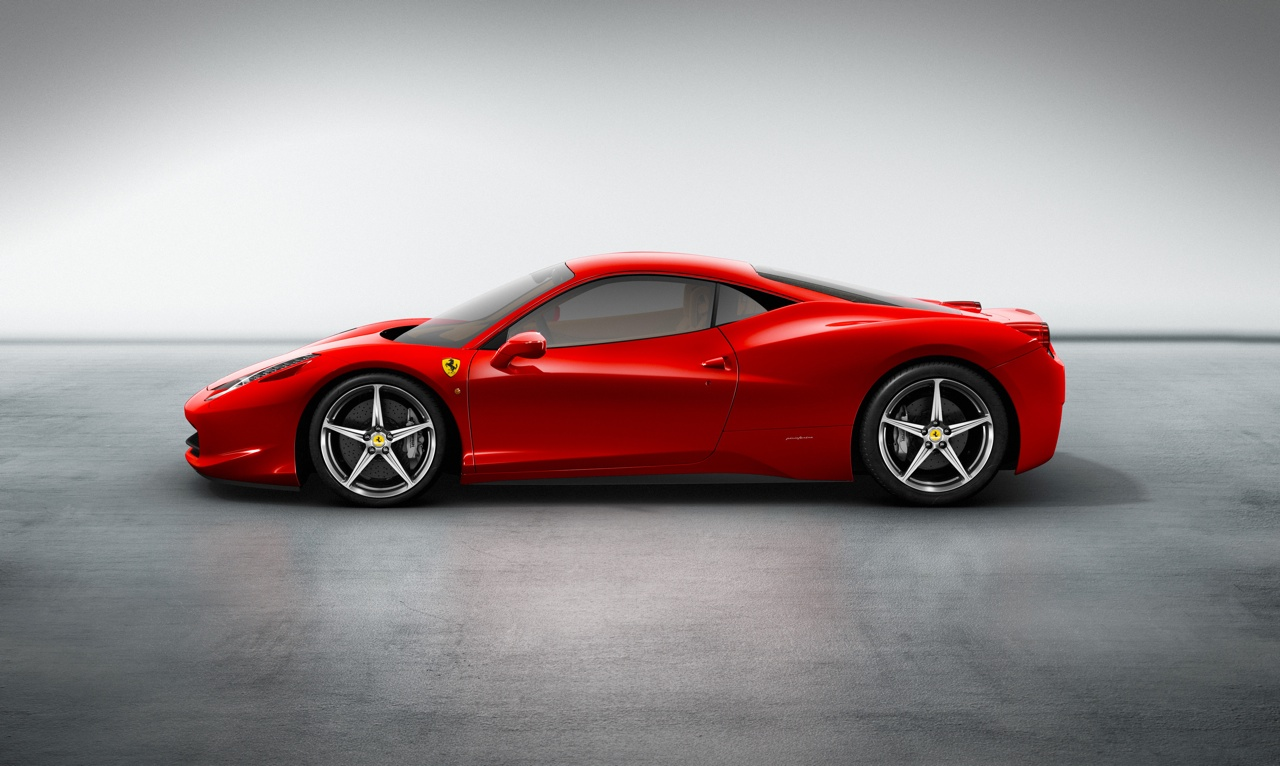 The new Ferrari 458 Italia