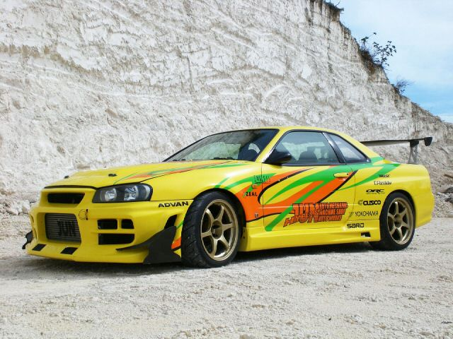The JUN R34 Skyline