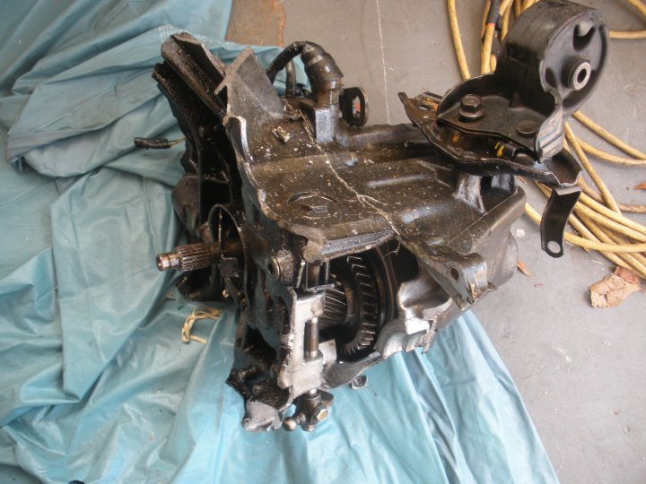 Whats Left of the Transmission